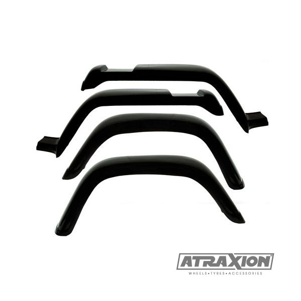 Jeep accessories 1406.16 fiberglass Fender flare set for Jeep Wrangler YJ (87-95)  (150mm)