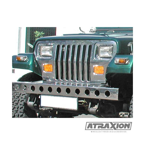 Jeep accessories 1514.10 inox grill for Wrangler YJ (87-95)