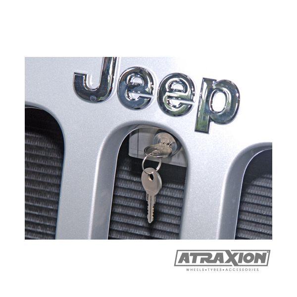 Jeep accessories 1521.22 inox hood lock for Jeep Wrangler JK (07-15)