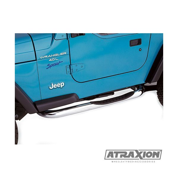 Jeep accessories 1534.23 sidebar with steps for Wrangler TJ (96-'06)