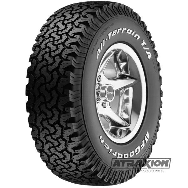 285/70-17 Bf-goodrich All Terrain T/A KO 121/118R