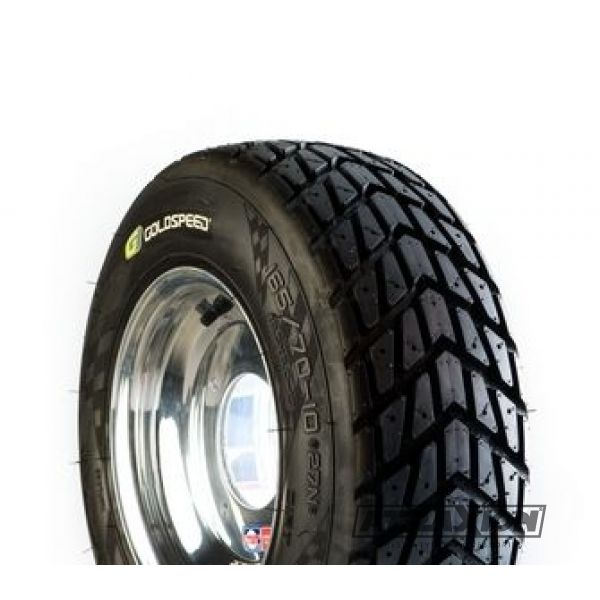 165/70-10 (18,5x6-10) Goldspeed RACEC9205FRONTCR E4 27Q  Yellow