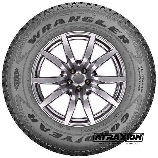 255/70-18XL Goodyear WRANGLER AT ADVENTURE FP LR 116H