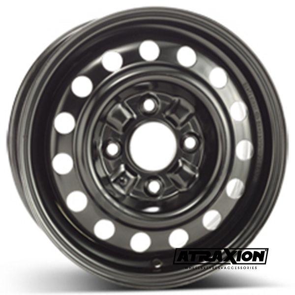 5.5x14 4x114.3 ET46 CTR67 Steel ALCAR HYUNDAI MATRIX (Hyundai Matrix) Black 6620