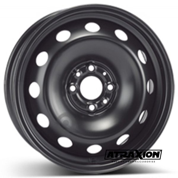 6.5x15 4x98 ET43 CTR58 Steel ALCAR FIAT STILO AB 11.01 (Fiat Stilo Ab 11.01) Black 8085