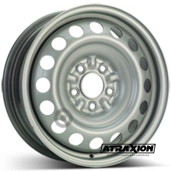 6.5x16 5x114.3 ET50 CTR67 Steel ALCAR MAZDA TRIBUTE/MPV (Mazda Tribute/Mpv) Silver 9645