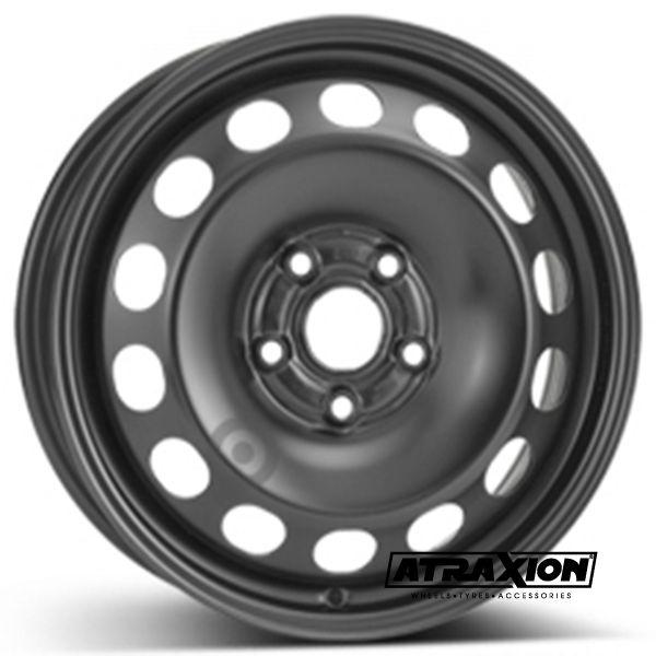 6.5x16 5x112 ET50 CTR57 Steel ALCAR VW TOURAN 1T (Vw Touran 1t) Black 9915