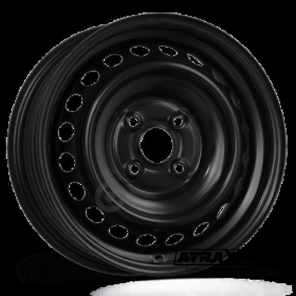 4.5x14 4x100 ET45 CTR54 Steel ALCAR OPEL AGILA H00+SUZUKI (Opel Agila H00+Suzuki) Black 4920