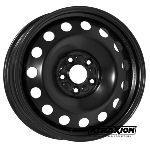 6.5x16 5x100 ET45 CTR54 Steel ALCAR TOYOTA AVENSIS 2 (Toyota Avensis 2) Black 9955