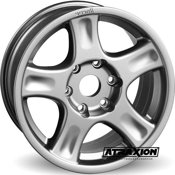 8x17 5x150 ET40 CTR110.5 Alu Arcasting Racer (1450kg Incl cap) Silver RA54SI