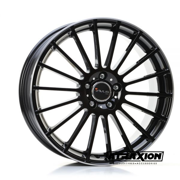 7x17 5x98 ET35 CTR58.1 Alu Avus Ac-M03 Black Polished Lip M030701750980355813W