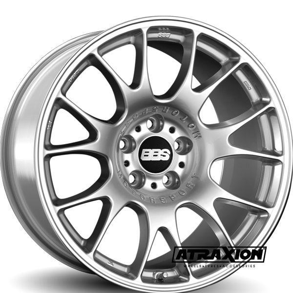 9.5x19 5x120 ET40 CTR82 Alu Ch CH005 (Bbs) Brilliant Silver 0362004#