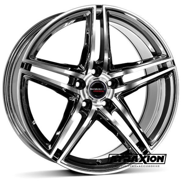 8.5x20 5x120 ET35 CTR72.5 Alu Xrt  (Borbet) Reflectic 222157 (DED BMW)