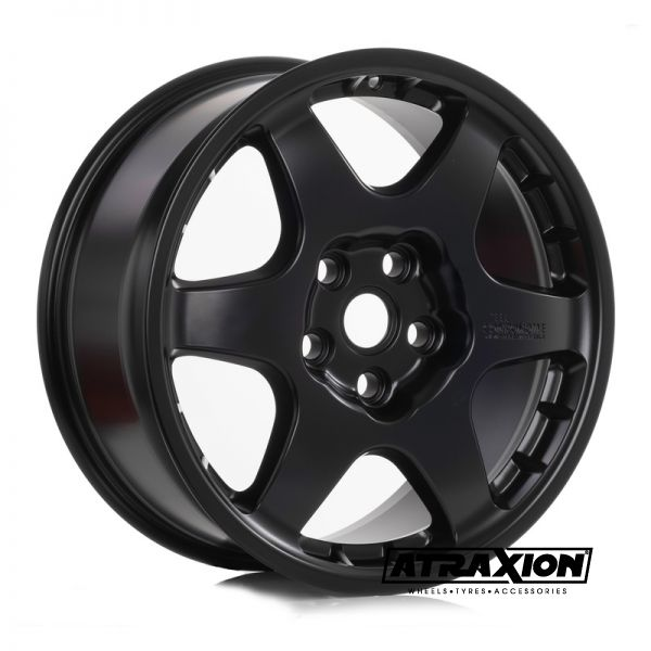 8x18 5x120 ET44 CTR72.6 Alu Compomotive PD1881 (Rover Competition) Satin Black (DED:LR)