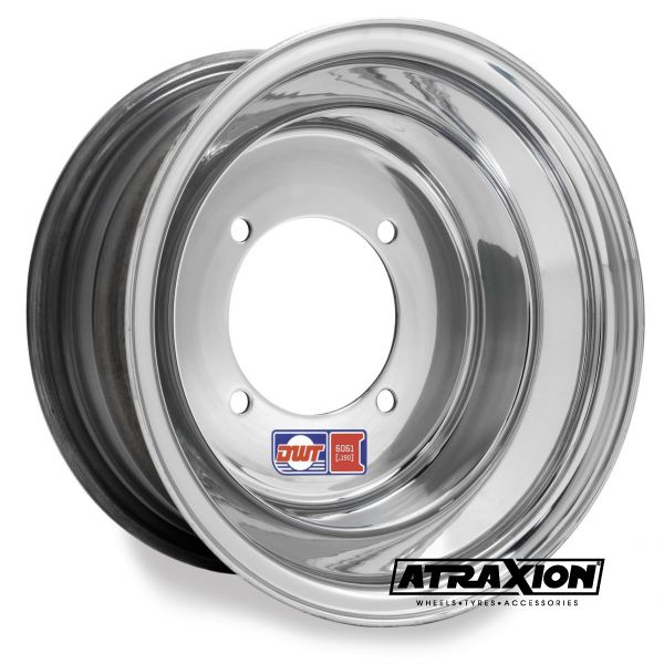 6x10 4x144 ET4B+2N CTR  Red Label (.190) (Douglas Wheels) Silver Polished 011-12