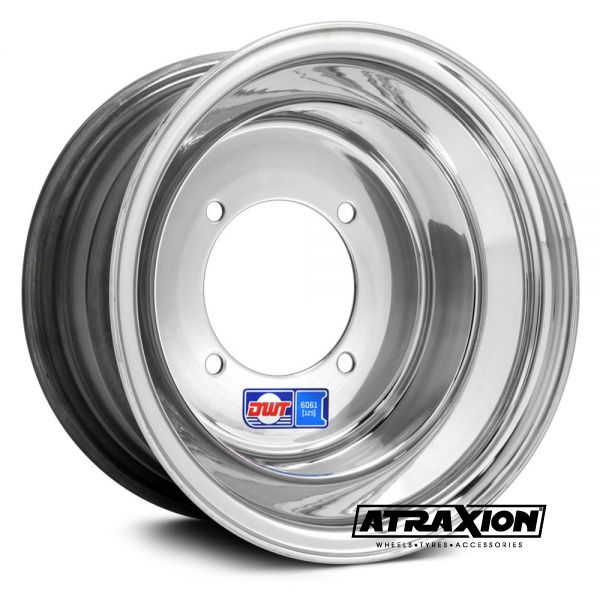8x6 3x100 ET3B+5N CTR  Blue Label (Douglas Wheels) Silver Polished 001-01