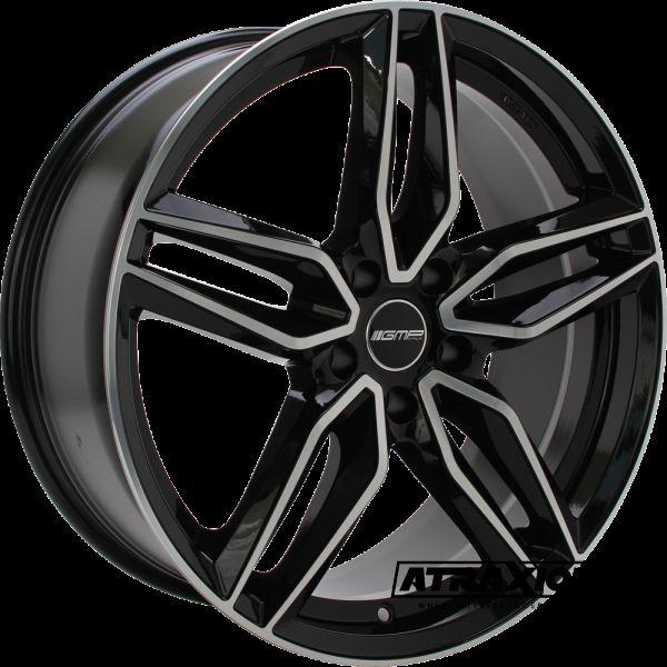 8x19 5x108 ET40 CTR73.1 Alu GMP Fasten Black polished 101096399