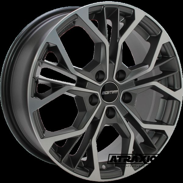 7.5x18 4x108 ET20 CTR65.1 Alu GMP Matisse Matt Anthracite Polished 101096528
