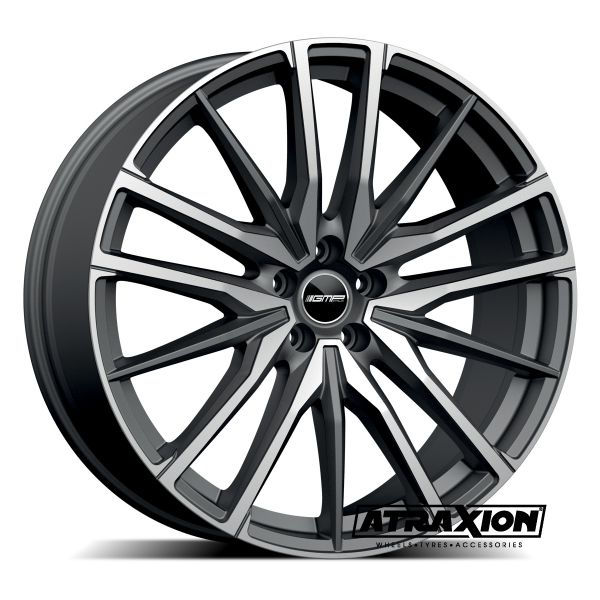 9x20 5x112 ET35 CTR66.6 Alu GMP Sparta Matt Anthracite Polished (DED:BMW) 101098376