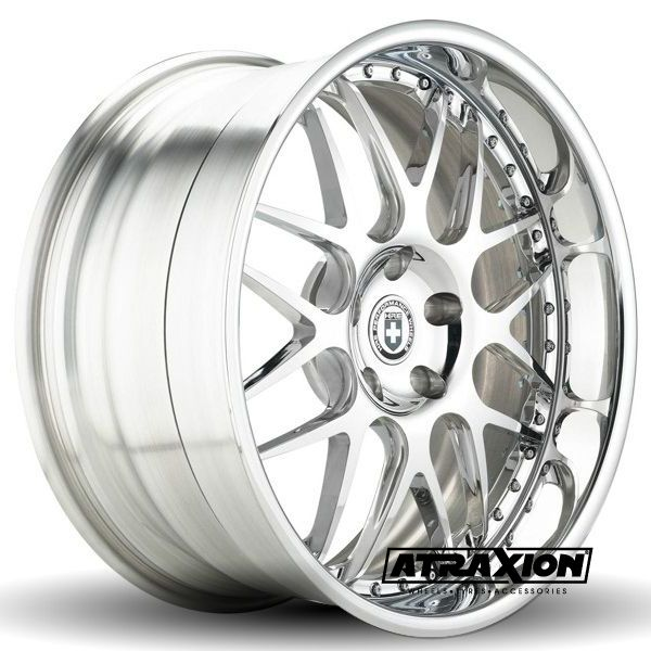 10x21 5x120 ET30 CTR Alu 590r  (Hre Wheels) Brushed
