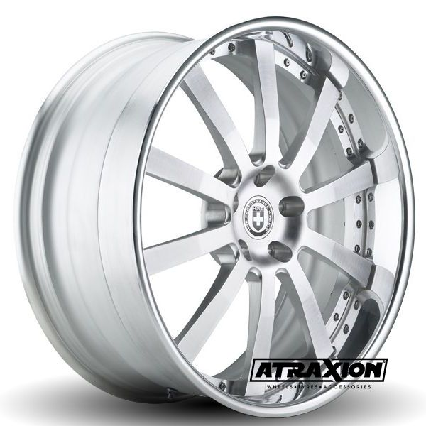 9x21 5x108 ET39 CTR63.4 Alu HRE Wheels 793R Brushed