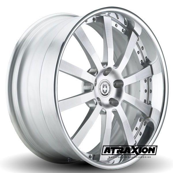 9x21 5x108 ET39 CTR63.4 Alu 793r  (Hre Wheels) Brushed