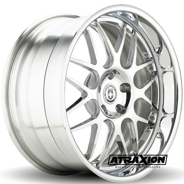 10x21 5x120 ET30 CTR Alu 890r  (Hre Wheels) Silver