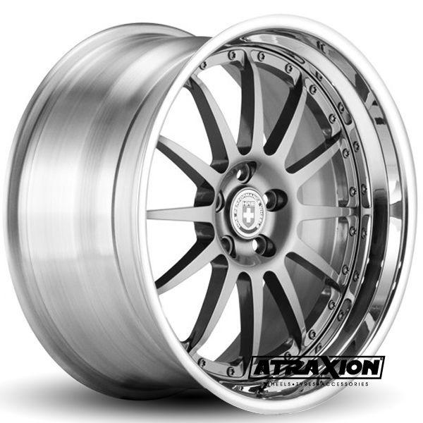 10x18 5x130 ET CTR Alu Comp  (Hre Wheels) Black