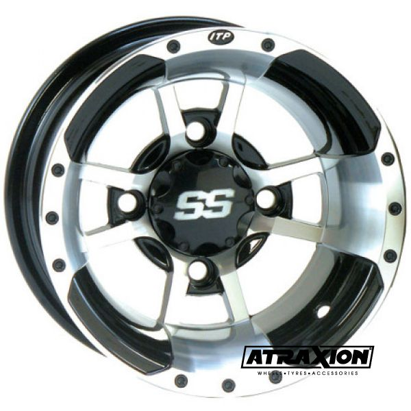 10x10 4x110 ET4B+6N CTR  Ss112 Sport (Itp) Machined Rear Incl. Caps 10SS17BX