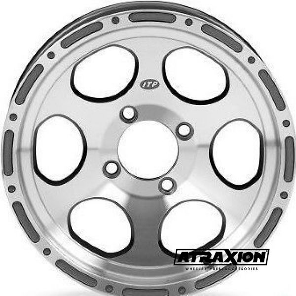 7x14 4x137 ET2B+5N CTR  Type7 (14D117BX) (Itp) Machined Rear 1428144404B