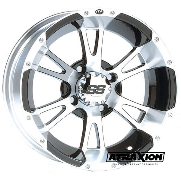 6x14 4x110 ET4B+2N CTR  Ss112 (Itp) Machined Front Incl. Caps 1428247404B