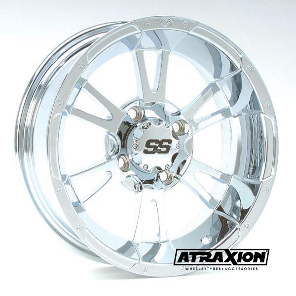 8x10 4x115 ET3B+5N CTR  Ss112 (Itp) Chrome Rear Incl. Caps 10SC13BX