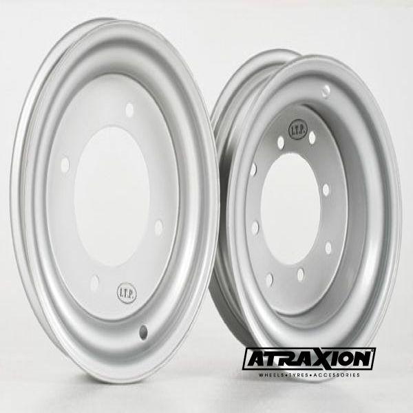 8x10 4x156 ET3B+5N CTR  Steel (18R156) (Itp) Silver 1025793700