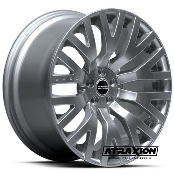 10x22 5x120 ET35 CTR72.6 Alu Rs  (Kahn) Silver COS102D01 (DED LR)