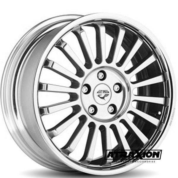 9.5x20 5x120 ET35 CTR Alu Diamond PPAWATPDIL-95035 (Mak) Polished