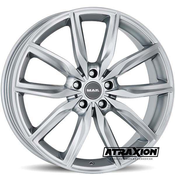 8x20 5x120 ET30 CTR72.6 Alu Mak Allianz Silver (DED:BMW) F8020AZSI30I2BX