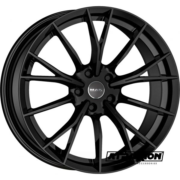 8.5x19 5x120 ET38 CTR72.6 Alu Mak Fabrik Gloss Black (DED:BMW) F8590FKGB38I3BX