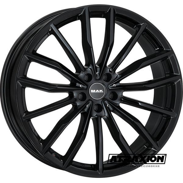 10x20 5x120 ET40 CTR74.1 Alu Mak Rapp Gloss Black (DED:BMW) F1020RUGB40IZX