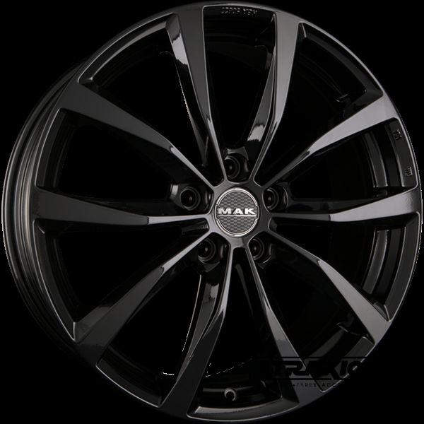 8x19 Mak Wolf Gloss Black Atraxion Tyres Wheels