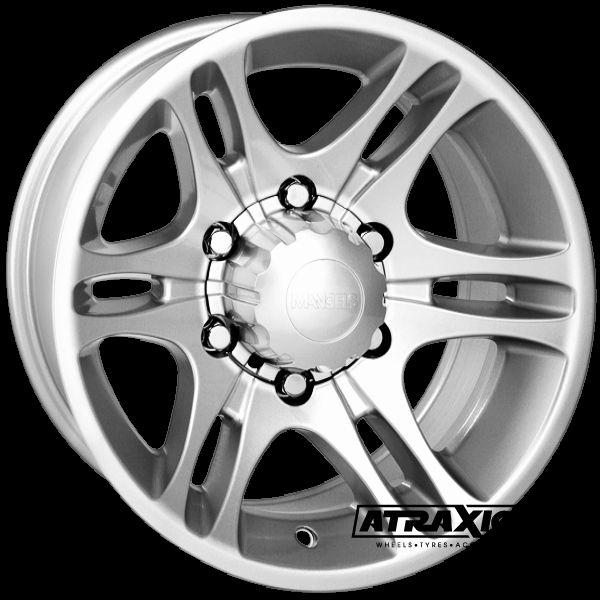 7x15 5x114.3 ET20 CTR Alu Dragon  (Mangels) Silver