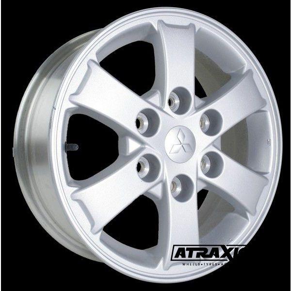 6x16 6x139.7 ET46 CTR67.1 Alu 6 Spoke L200 2006+  (Oe Mitsubishi) Silver
