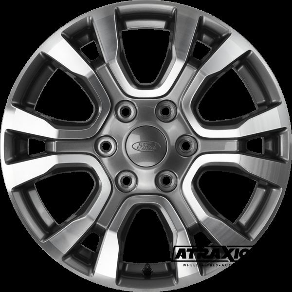 8x18 Oe Ford Ranger Wildtrak Anthracite Polished