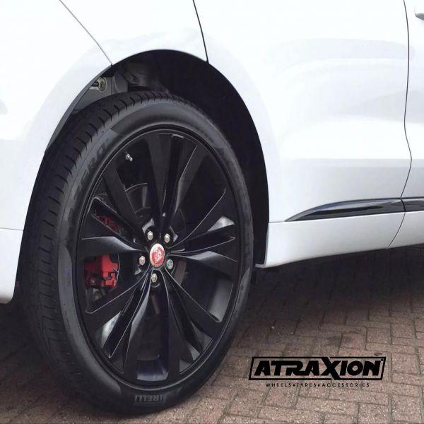 9x22 Oe Jaguar F Pace Helix Satin Black Gloss Bl Inserts