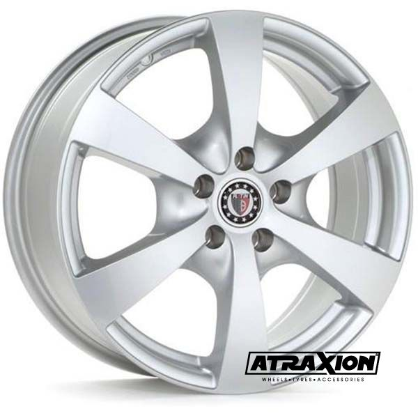 7x16 5x120 ET20 CTR82 Alu P50  (Platin) Silver