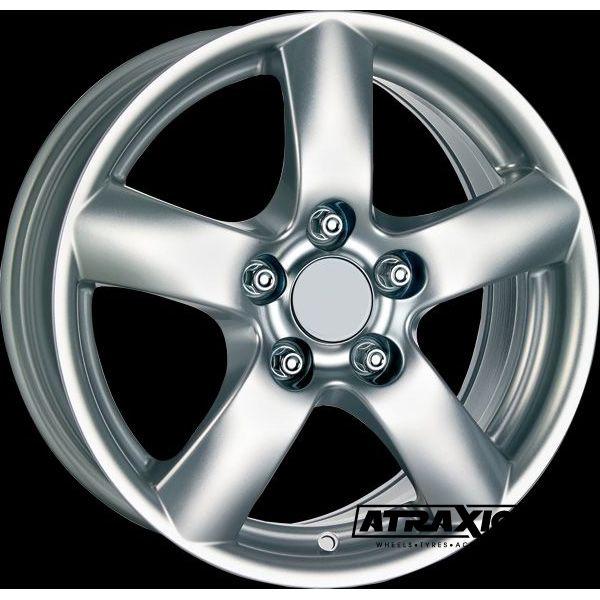 7x16 5x139.7 ET45 CTR Alu Oslo Ii  (Rial) Silver