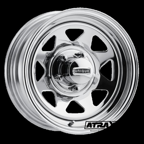 8x16 6x139.7 ET13 CTR84.83 Steel Series27 8 Spoke (Unique) Chrome (27-7860S)