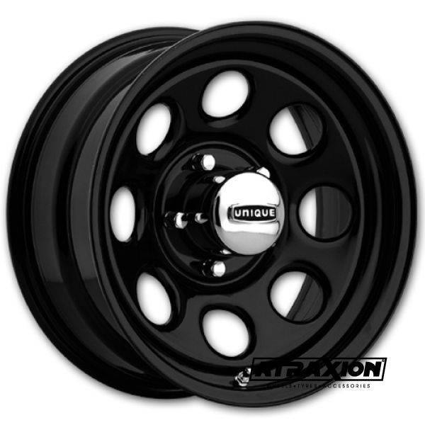 9x17 6x114.3 ET13 36221 CTR84 Steel Unique Series297 Soft Black 1729432014B