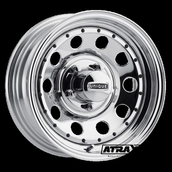 7x16 5x114.3 ET0 CTR0 Steel Unique Series96 Modular (Series96 Modular) Chrome 1627050402B