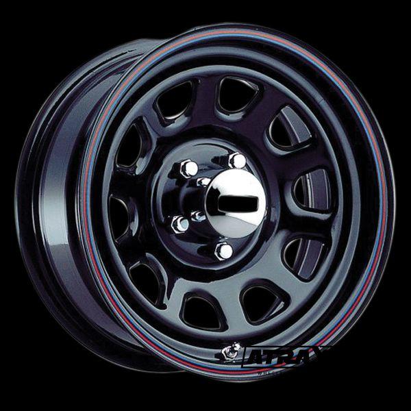 10x15 5x114.3 ET-38 CTR0 Steel Unique S42 Daytona (S42 Daytona) Black 1525917565B
