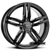 8.5x20 5x160 ET52 CTR65.1 Alu Romac Venom Gloss Black RMVEN J0765GB
